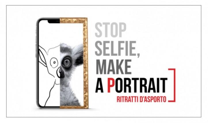 STOP SELFIE, MAKE A PORTRAIT